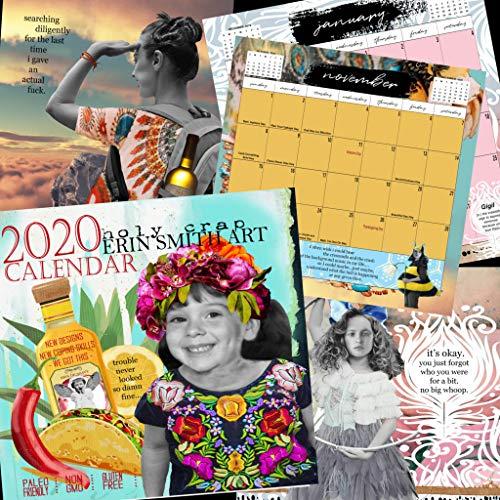 Erin Smith Art 2020 Wall Calendar (Smith Calendar Erin)