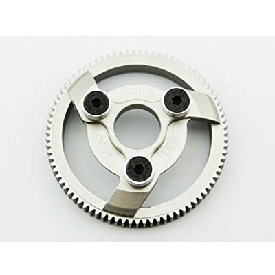 Hot Racing Te883H Hard Anodized Aluminum Spur Gear, 83 Tooth 48 Pitch: Toys & Games