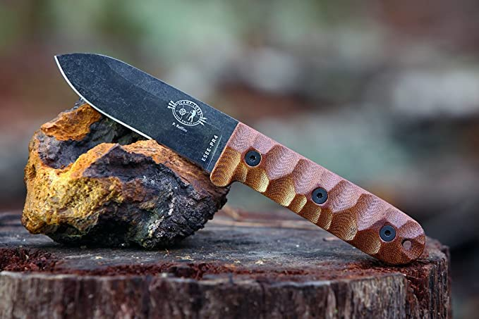 Amazon.com: Esee Cuchillos PR4 Supervivencia cuchillo de ...