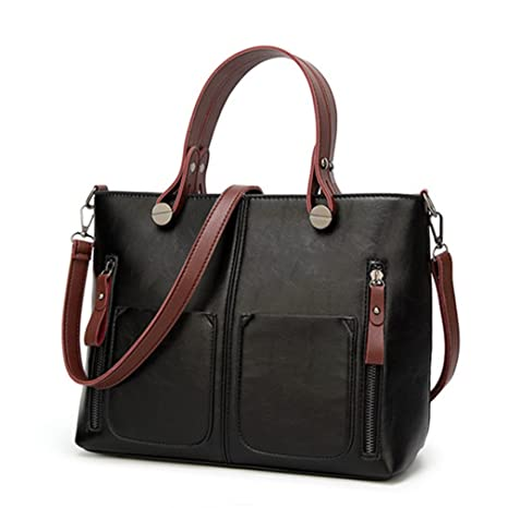 0c029ef742dc Amazon.com: UOXMDNJC Vintage Women Shoulder Bag Female Causal Totes ...