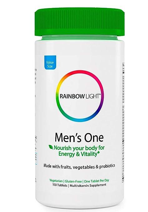 Rainbow luz de hombre One Multivitaminas: Amazon.es: Salud y ...