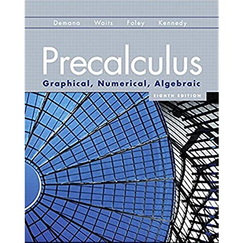Precalculus Textbook: Amazon.com