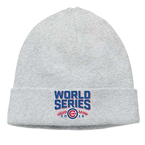 Chicago Cubs World Series 2016 Cubs Beanie For Men Women Ash (6 Colors)   Amazon.ca  Clothing   Accessories 3ddc44df5