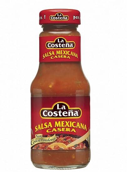 La Costeña Salsa Mexicana Casera - 250 gs.