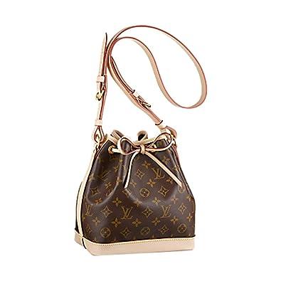 7f3e55876169 Authentic Louis Vuitton Monogram Canvas Noé BB Shoulder Bag Strap Handbag  Article  M40817 Made in France  Handbags  Amazon.com