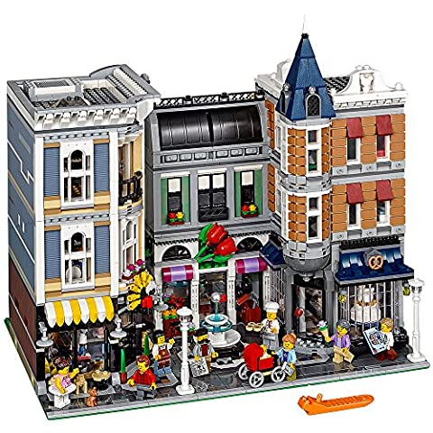 LEGO Creator Expert ASSEMBLY Square 10255 Building Kit - Creator Building Set