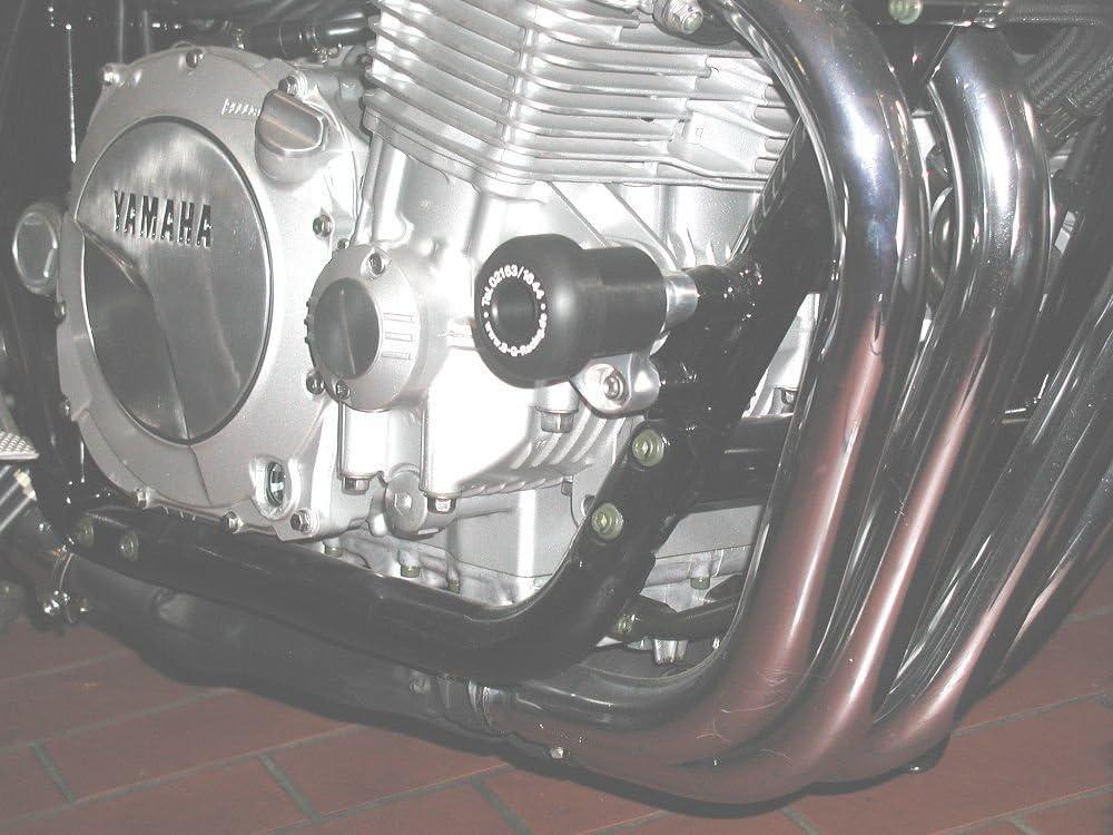 B/&G Racing Sturzpads Yamaha XJR 1200//1300 Racing schwarz