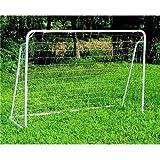 TimmyHouse Portable Football Goal Soccer Net Quick Ball Sport Training Steel Frame 8' x 5'