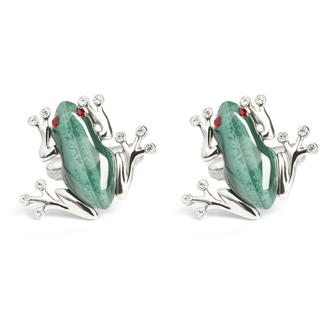 Simon Carter Darwin Frog Cufflinks by Prince of Scots