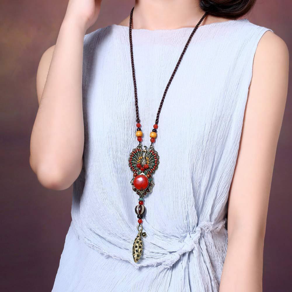 Retro Simple Necklace Creative Pendant Personality Accessories Wild Pendant Gift Couple Influx