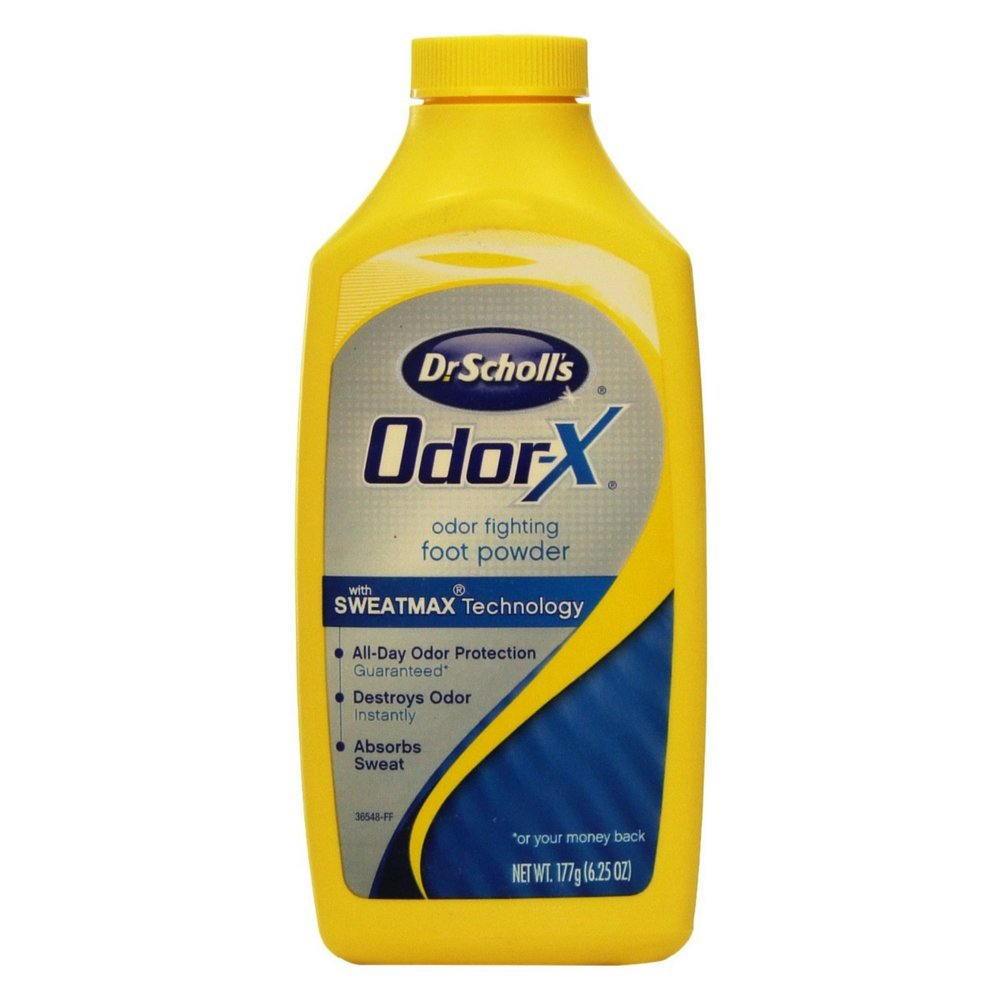 Dr. Scholl's Odor-X Odor Fighting Foot Powder 6.25 oz. (Quantity of 5) by Unknown