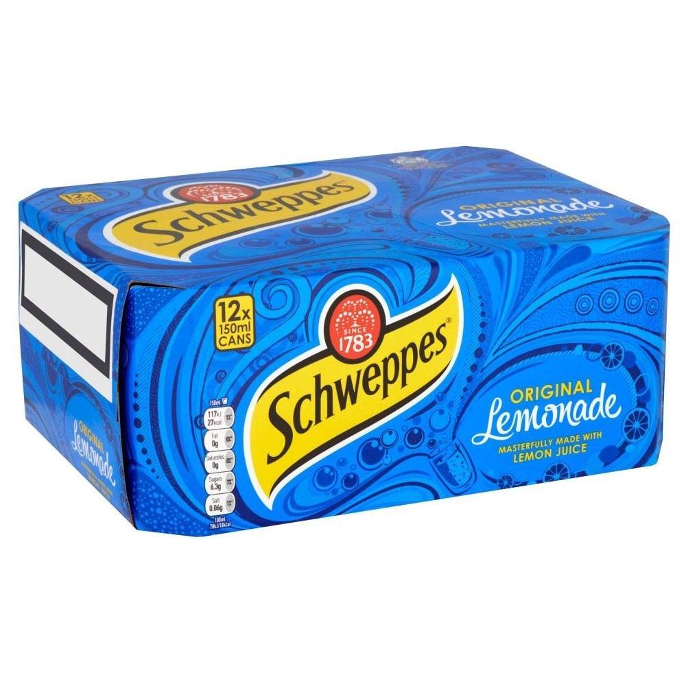 Schweppes Original Lemonade (12x150ml)