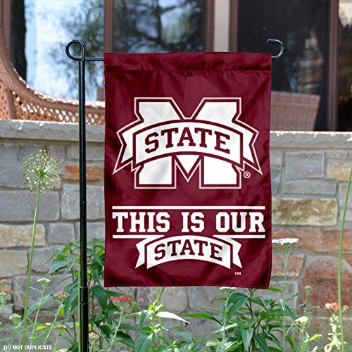 Mississippi State Bulldogs Window (Mississippi State Bulldogs This is Our State Garden Flag and Yard Banner)