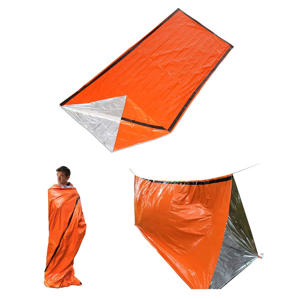 Lepeuxi Sacco a Pelo Termico Portatile con Sacco a Compressione per lesplorazione del Campeggio