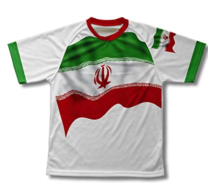 42bb4b65c ScudoPro Iran Flag Technical T-Shirt for Men and Women at Amazon ...