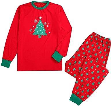 Lookhy - Pijama de Navidad con diseño de Copo de Nieve y ...