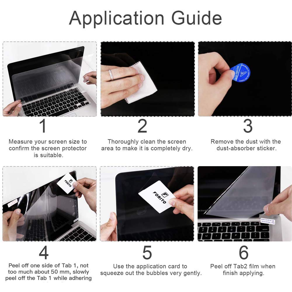 FINDING CASE Clear Screen Protector Compatible Apple MacBook Pro 13 inch Touch Bar A1989//A1706 Anti Scratch /& Fingerprint Screen//Trackpad Protector 2018-2016 Release