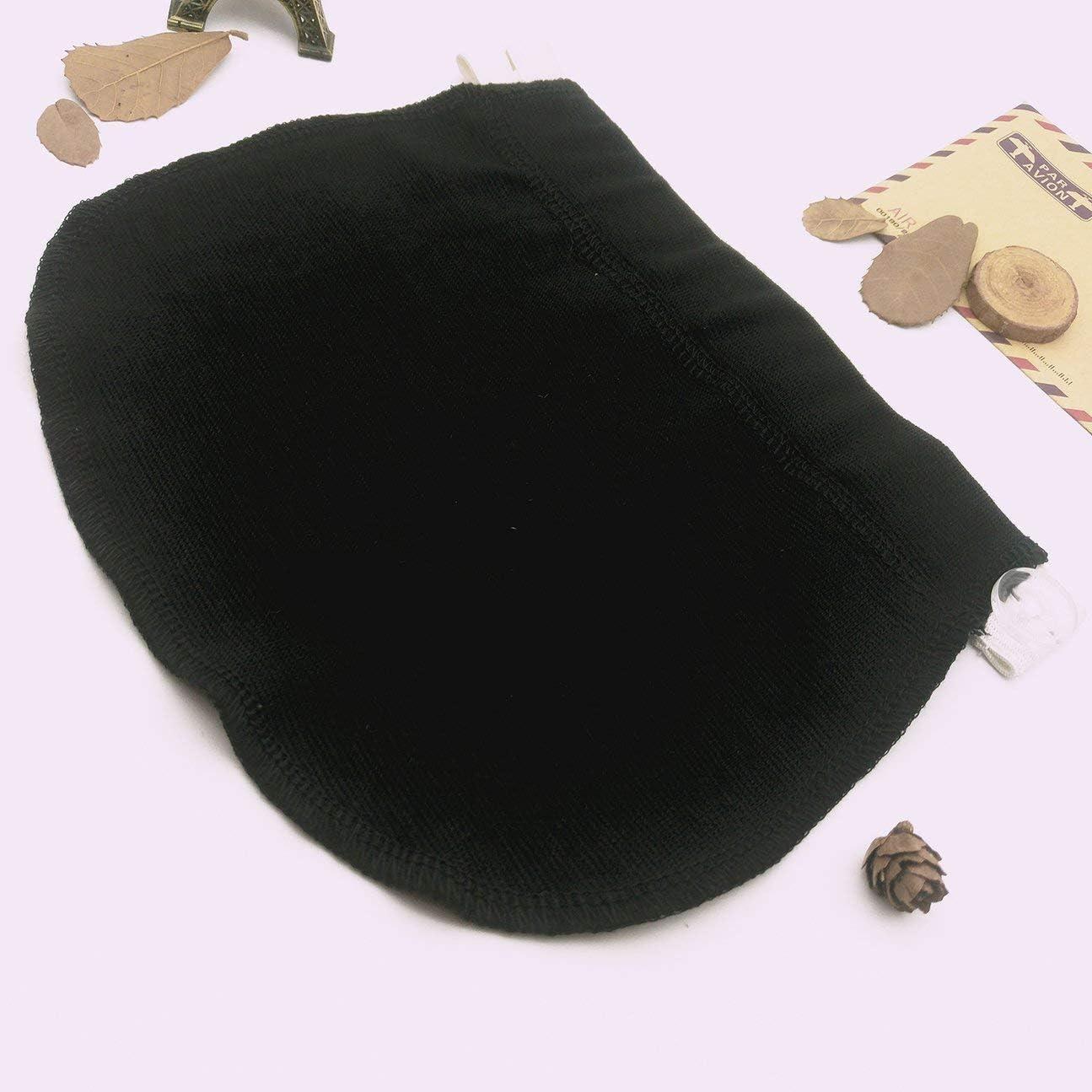 MachinYeser Maternity Pregnancy Waistband Belt Adjustable Elastic Waist Extender Clothing Pants for Pregnant Color:Black