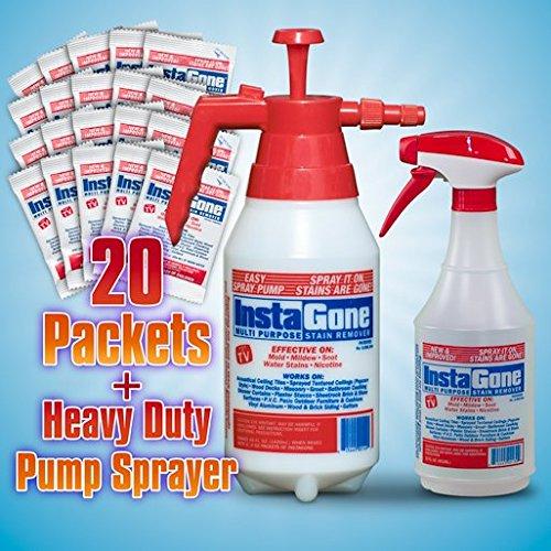 20 Instagone Packets + Free 22 oz Bottle & 48 oz. Bottles!