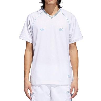 8d48b9adb4e adidas x Krooked (White Clear Blue) Jersey-Medium at Amazon Men s Clothing  store