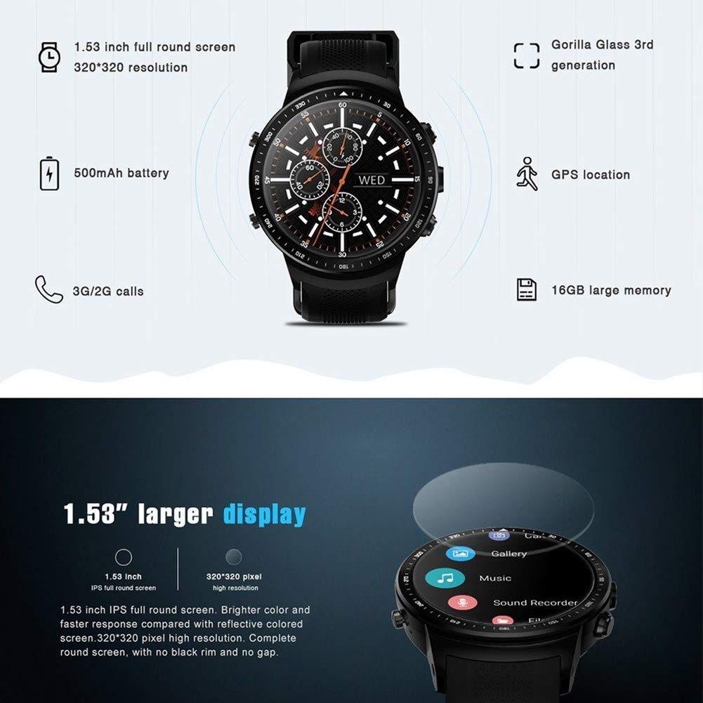 Amazon.com: MORE11 Zeblaze Thor PRO 3G Smart Watch,1.53inch ...