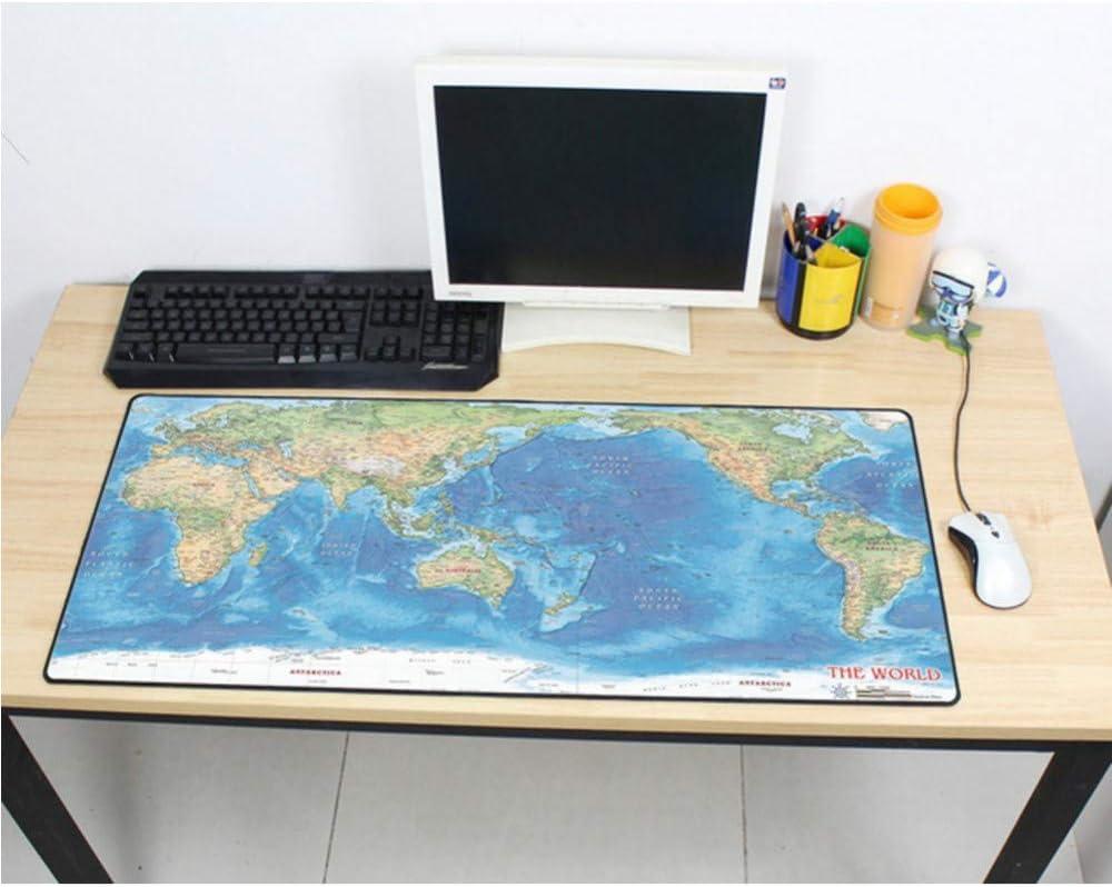 cmhai Gaming Mouse Pad mapamundi 900x400x3mm DIY XL Gamer de Mouse ...