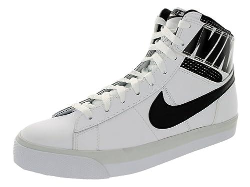 eab6a2a1c782 Nike Men s Match Supreme Hi Ltr White Black Black Lt Base Grey Casual