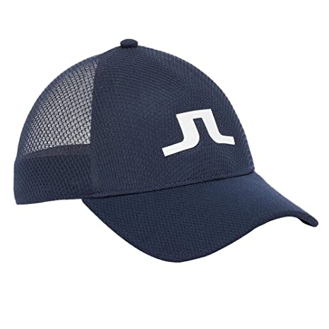 1062d8ea811 Image Unavailable. Image not available for. Color  J.Lindeberg Ace Mesh  Seamless 86MG Golf Cap JL Navy Medium