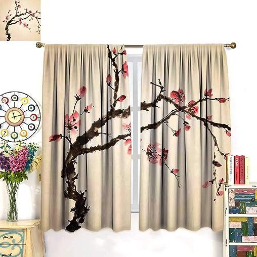 Daniohome Japanese Curtains