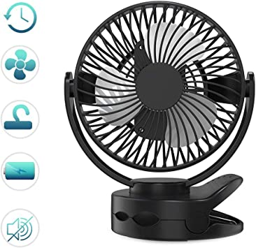 Mini Ventilador Pequeño de Sobremesa Ventilador de Aire ...