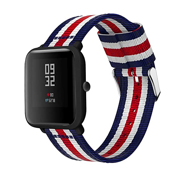 Amazon.com: Huamecl for Xiaomi Amazfit bands Straps Bands ...