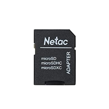 Docooler Adaptador de Tarjeta de Memoria Netac P100 TF a SD ...