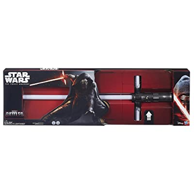 Star Wars Exclusive Kylo Ren Ultimate FX Lightsaber: Toys & Games