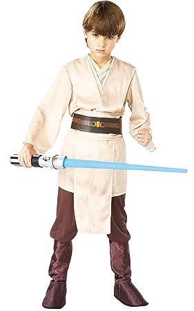 Rubies 630604 Traje de fantasía para niños - Trajes de fantasía para niños (Disfraz, Película, Star Wars, Niño, Marrón, Blanco, S)