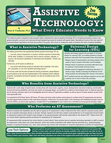 Assistive Technology: What Every Educator Needs to Know, 2nd Edition