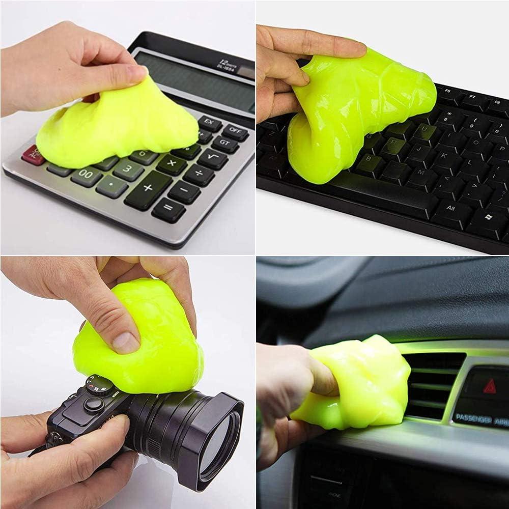 Blau wiederverwendbarer Magic Keyboard Dust Soft Mud Universal Gel Dust Slime Cleaner Super Clean Keyboard Slime Staubreiniger