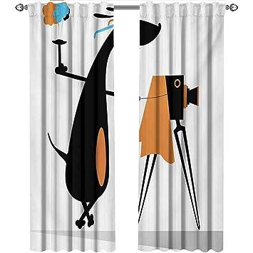 Amazon.com: Shenglv Funny - Cortinas de cocina con gafas ...