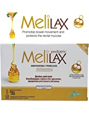 Aboca Melilax Pediatric 6 Micro Enemas for Infants and Children by Aboca