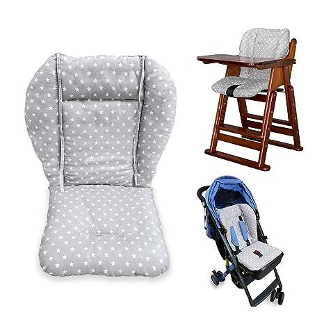Cojín para silla de bebé, silla alta, silla de bebé, silla ...