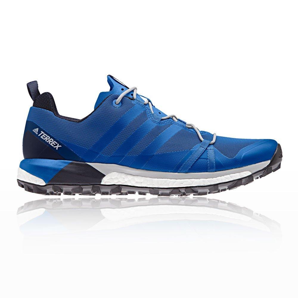 Adidas Terrex Agravic, Zapatillas de Trail Running para Hombre 49 1/3 EU|Azul (Maruni/Belazu/Gridos 000)