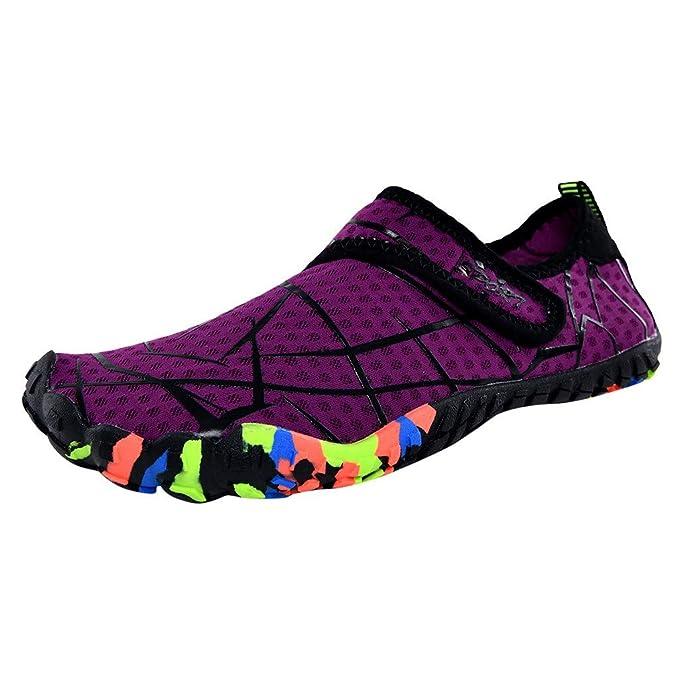 Amazon.com: Sharemen Mens Aqua Water Shoes Summer Sports ...