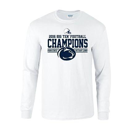 8365cb27 Elite Fan Shop Penn State Football Big Ten Champs Long Sleeve Tshirt White  2016 - S