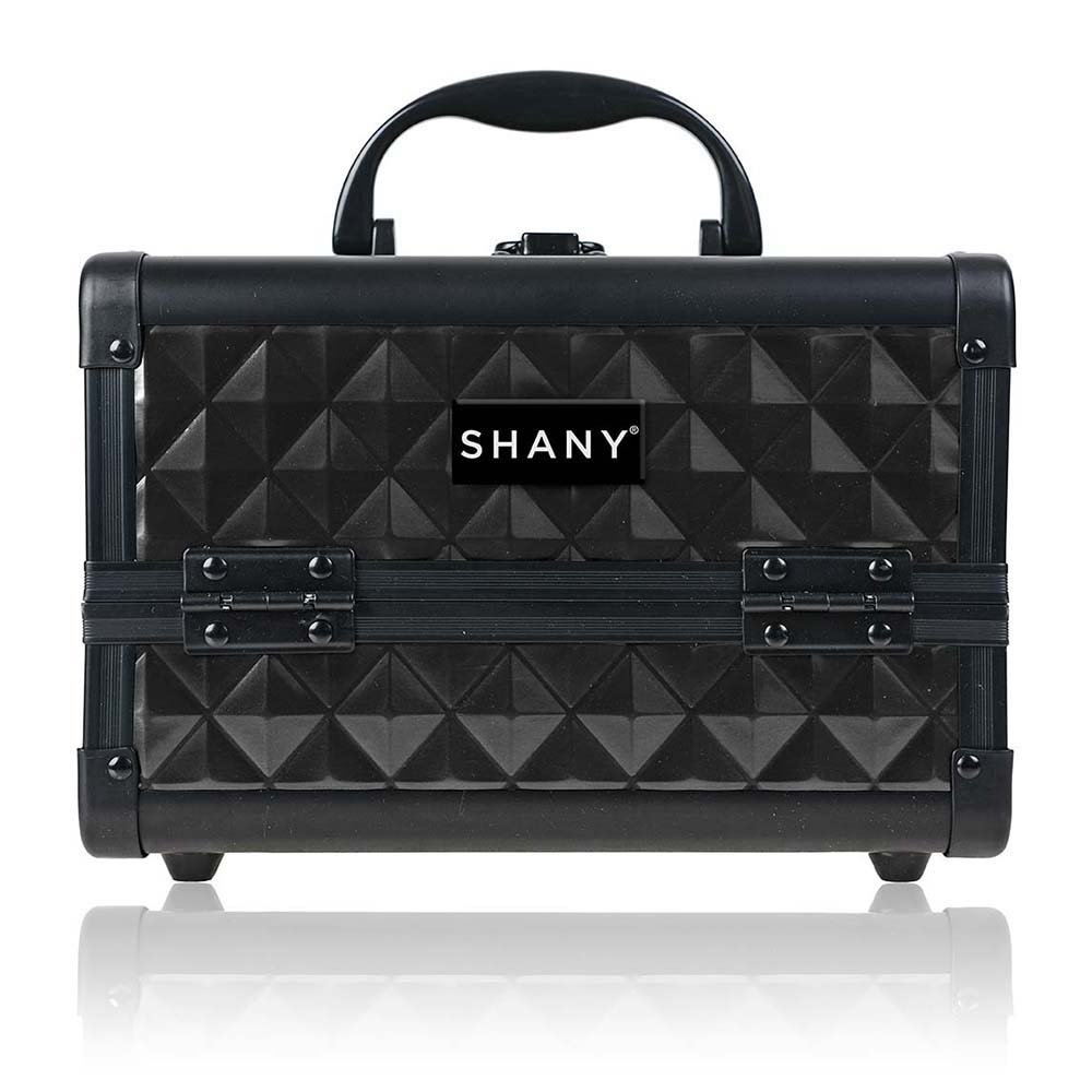 SHANY Mini Makeup Train Case With Mirror - Twilit