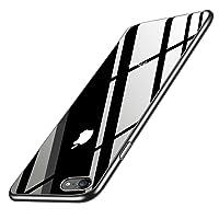 iPhone 8 Handyhülle, iPhone 7 Silikon Hülle, innislink Kratzfest Weiche TPU Schutzhülle Ultra Dünn Stoßfesten Crystal iPhone 8/iPhone 7 Bumper Case Cover für Apple iPhone8/iPhone7 Hülle - Jet Schwarz