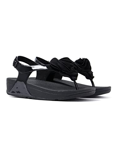 a011aa8a4f74 FitFlop Women s Florrie Ankle-Strap black Size  3  Amazon.co.uk ...