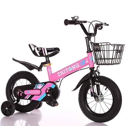 MC-FJ Unisexo Bicicleta para niños Estilo Libre Muchachos Chicas Niños Bici del niño,