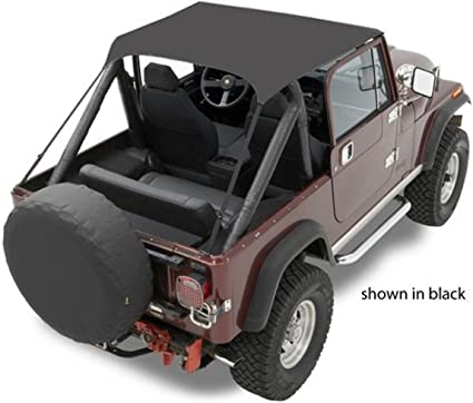 Tan Bikini Top for Jeep CJ7 CJ8 Wrangler YJ 1976-1991 52508-04 Bestop