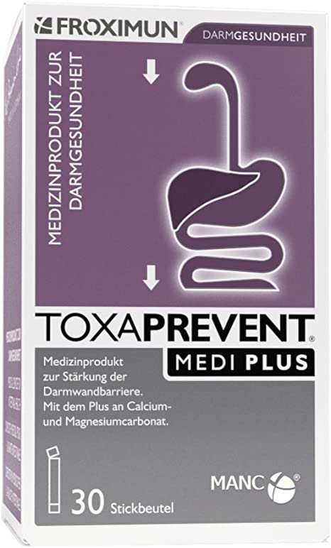 TOXAPREVENT MEDI PLUS - Palillos de 30 x 3 g, color natural: Amazon.es: Salud y cuidado personal