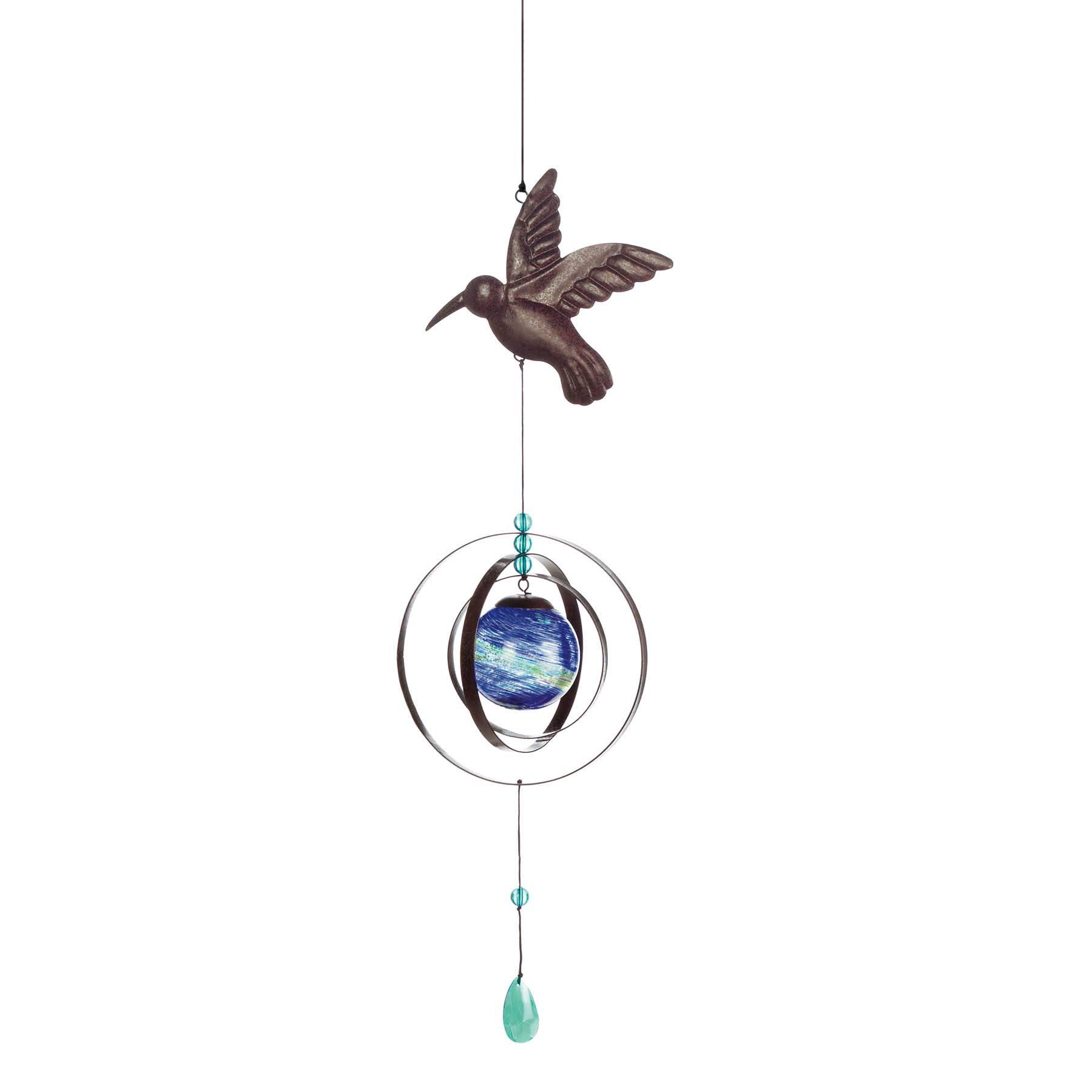 Smart Living Glow-in-the-Dark Bird Wind Spinner