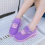 JARLIF Kids Athletic Tennis Running Shoes